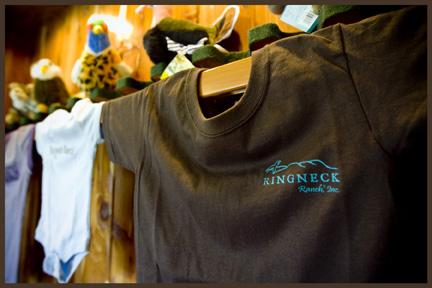 Tshirts and Plush Animals at Ringneck Ranch