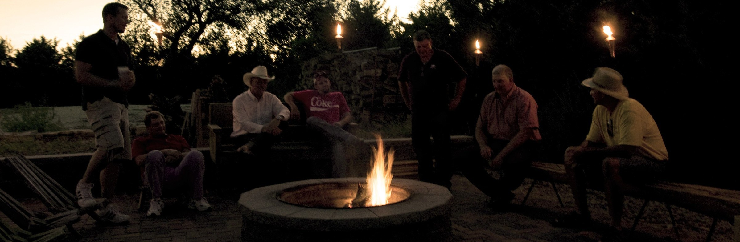 Hanging around the firepit 2