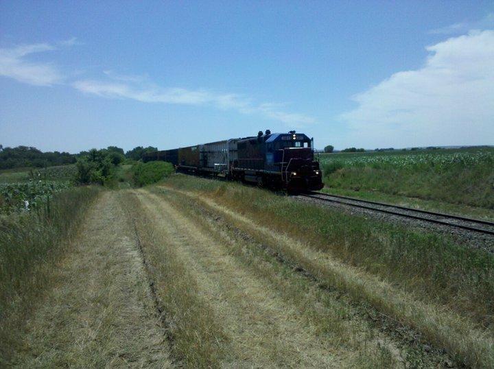 Train at Ringneck Ranch, Hunting Lodge in Tipton Kansas