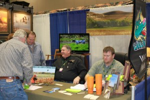 Ringneck Ranch Booth at Pheasant Fest 2012 in Kansas City
