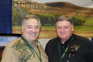 National Pheasants Forever President Howard Vincent & Keith Houghton