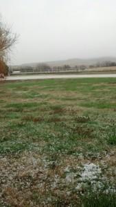 Hail mist April 2013