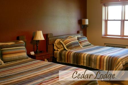 Cedar Lodge Queen Beds