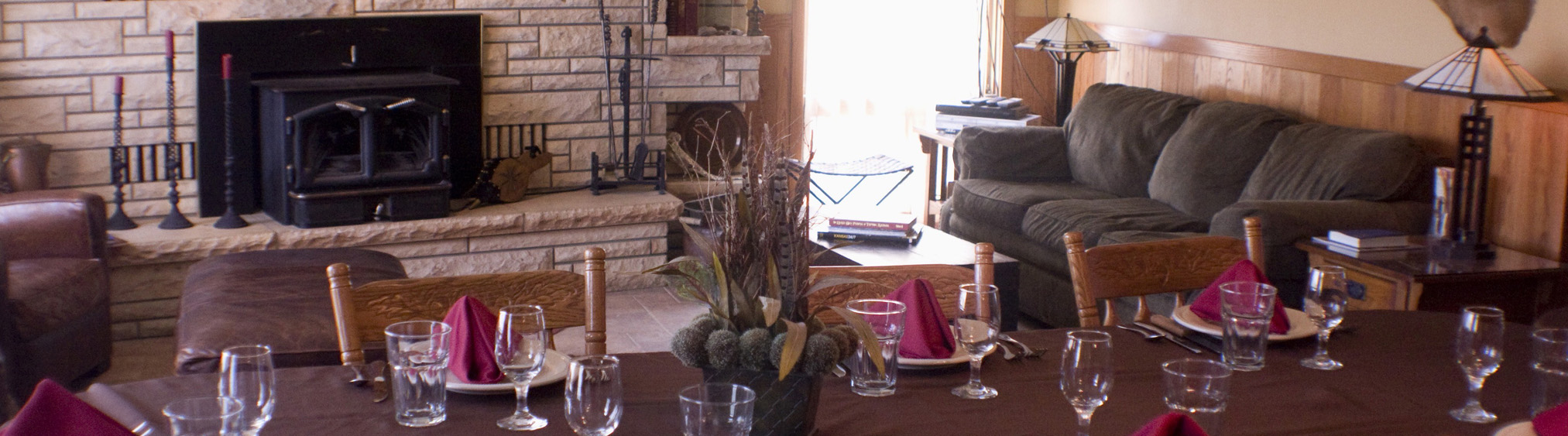 """Ringneck Ranch """"Ranch House"""" Dining Room"""