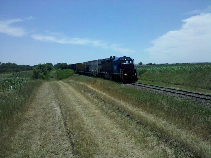 Train at Ringneck Ranch, Hunting Lodge in Tipton Kansas